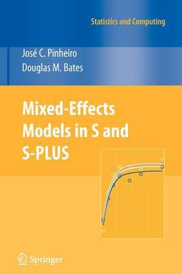 Mixed-effects Models in S and S-PLUS by Jose Pinheiro image