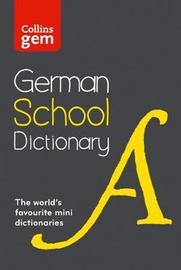 Collins German School Gem Dictionary by Collins Dictionaries