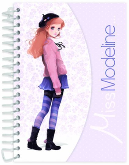 Miss Modeline A6 Notepad and Design Book - Capucine