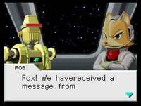 StarFox: Command for DS image