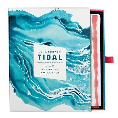 Galison: Greeting Notecards - Tidal