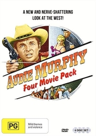 Audie Murphy: Four Movie Pack on DVD