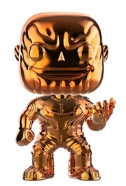 Avengers: Infinity War - Thanos (Orange Chrome) Pop! Vinyl Figure