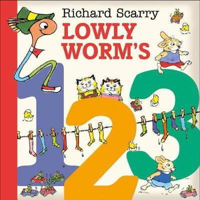 Lowly Worm's 123 by Richard Scarry