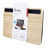 Kikkerland iBed Lap Desk - Large Wood
