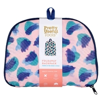 Pretty Useful Tools: Foldaway Back Pack - Camo Coral (20L) image