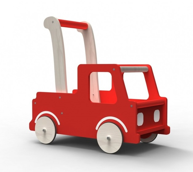 Moover: Push Along Walker - Red Truck