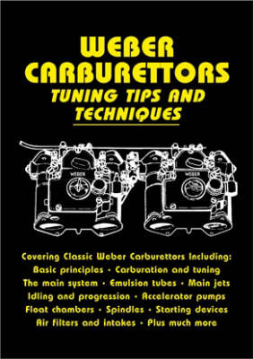 Weber Carburettors Tuning Tips and Techniques by John Passini image