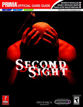 Second Sight - Prima Official Guide for PlayStation 2