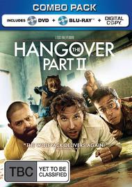 The Hangover Part II on DVD, Blu-ray