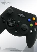 Powerwave Xbox Controller (Black) for Xbox
