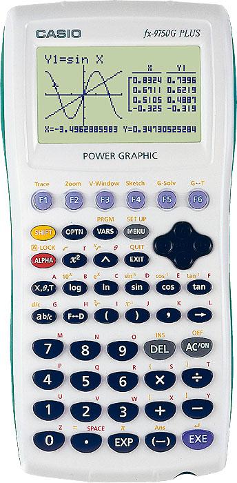 Casio FX-9750G PLUS Graphics Calculator