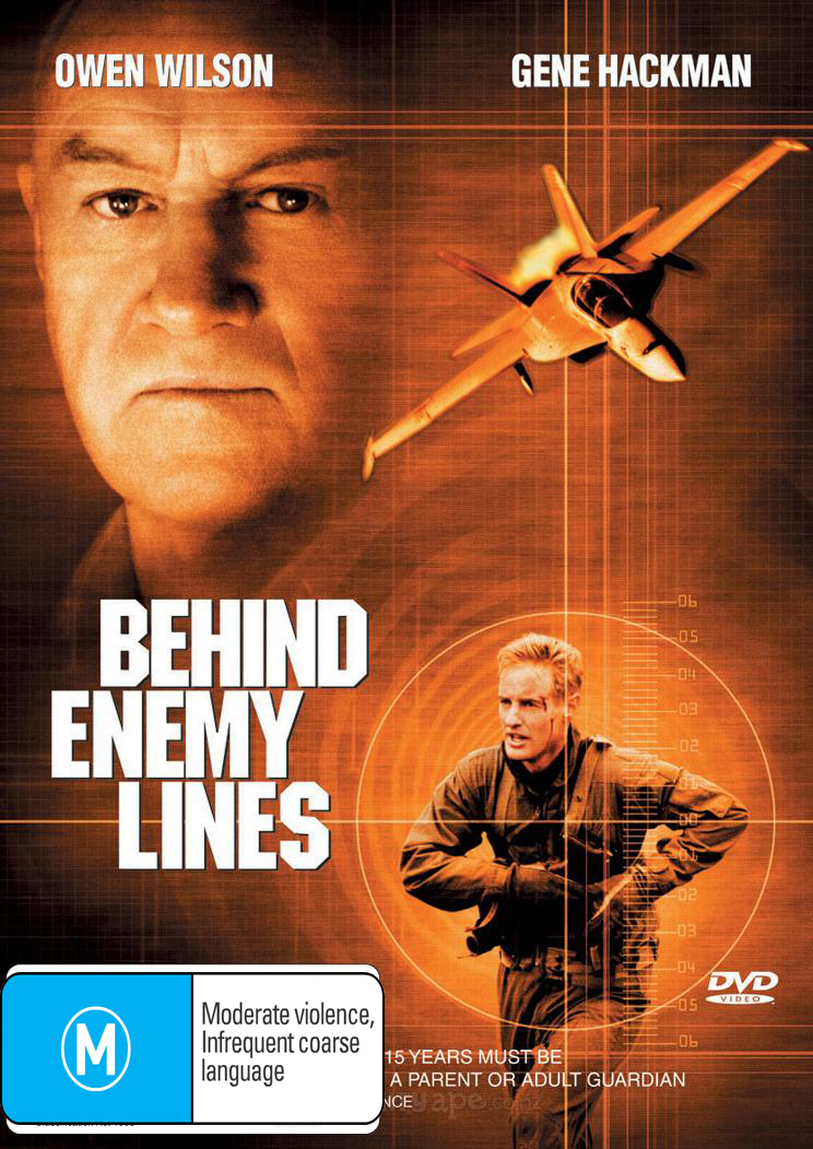 Behind Enemy Lines on DVD image