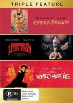 Enter The Dragon / Showdown In Little Tokyo / Romeo Must Die - Triple Feature (3 Disc Set) on DVD