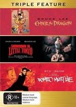Enter The Dragon / Showdown In Little Tokyo / Romeo Must Die - Triple Feature (3 Disc Set) on DVD