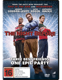 The Night Before on DVD