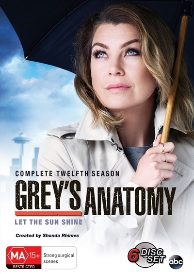 Grey's Anatomy - The Complete Twelfth Season on DVD