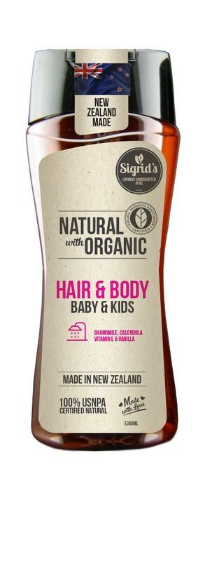 Sigrid's Baby Body Wash & Shampoo
