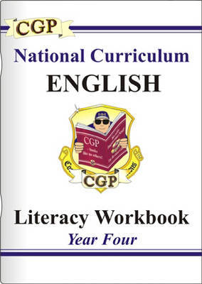 KS2 English Literacy Workbook - Year 4 by CGP Books image