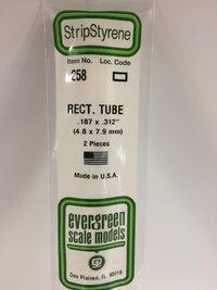 Evergreen Styrene Rectangular Tube-4.8X7.9 mm (2)