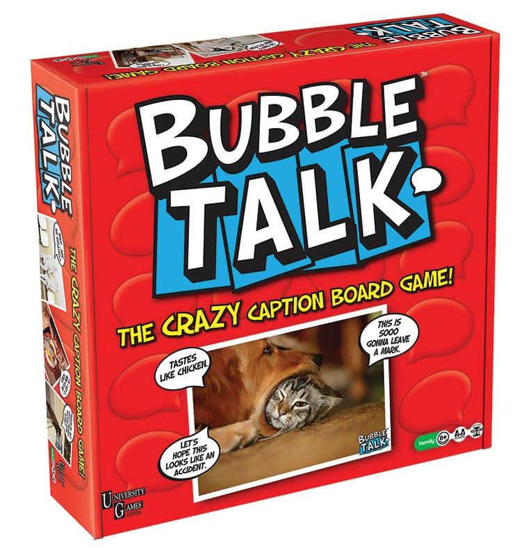 Bubble Talk - The Crazy Caption Board Game image