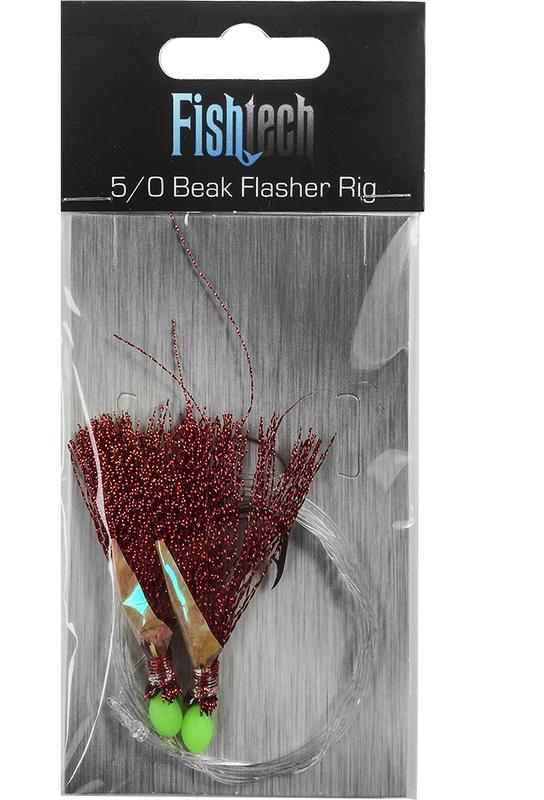 Fishtech 5/0 Beak Economy Flasher Rig