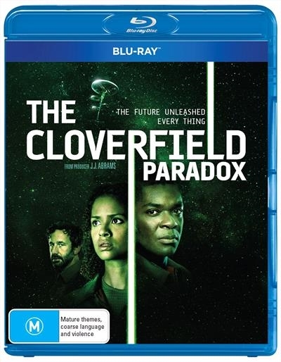 The Cloverfield Paradox on Blu-ray