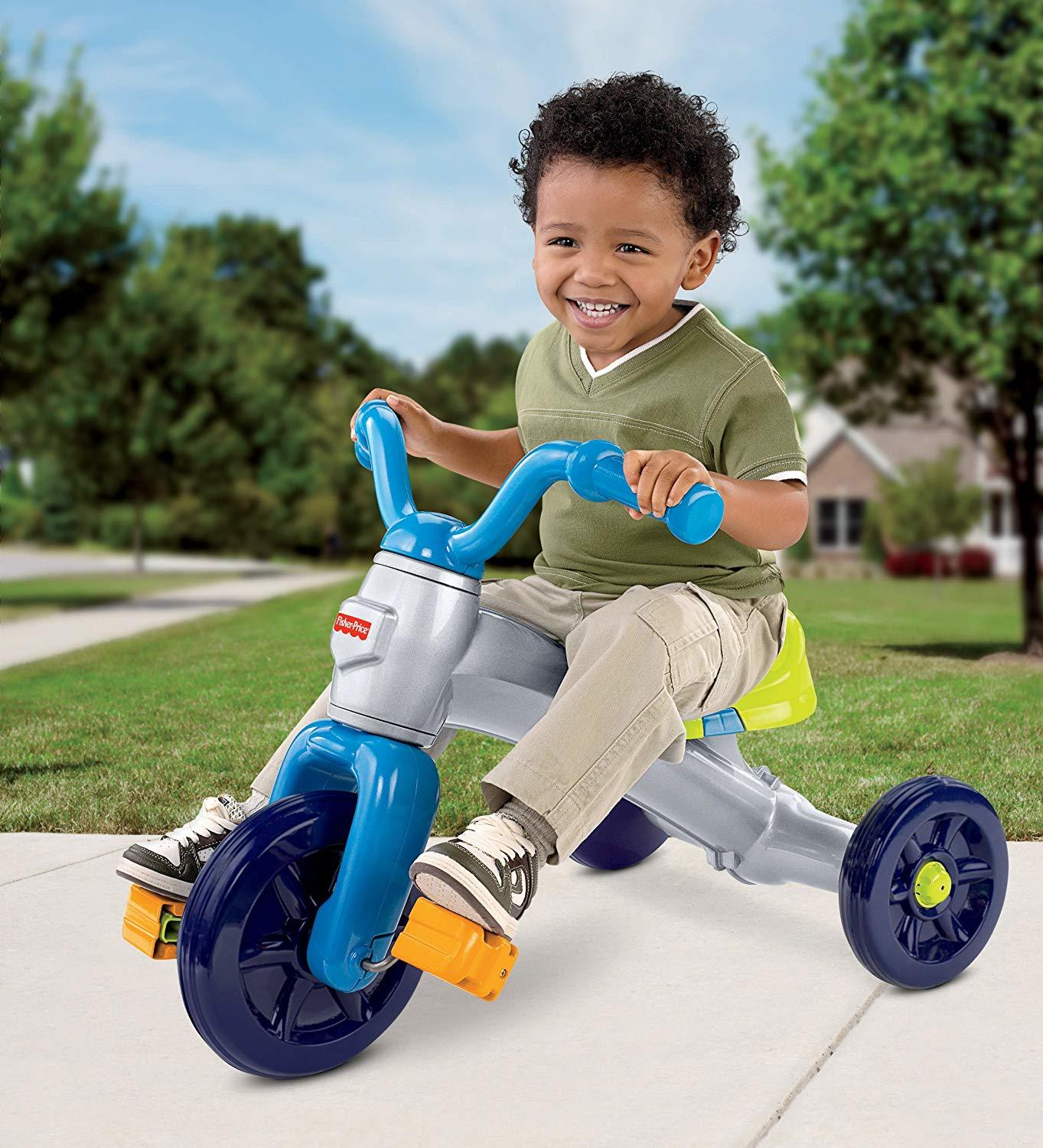 Fisher-Price - Grow-with-Me Trike Ride On image