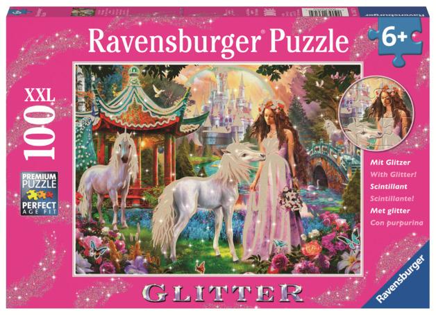 Ravensburger: 100 Piece Puzzle - Princess with Unicorn