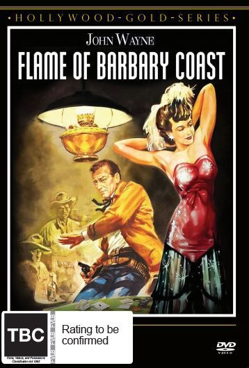 Flame Of Barbary Coast on DVD