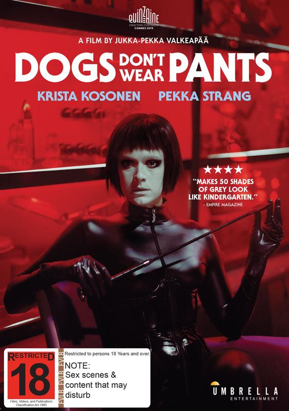 Dogs Don't Wear Pants on DVD