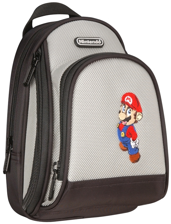 Mario Back Pack Case - Grey for Nintendo DS