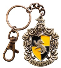 Harry Potter: Hufflepuff Crest - Metal Keychain