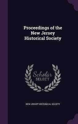 Proceedings of the New Jersey Historical Society image