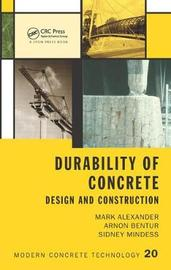 Durability of Concrete by Sidney Mindess