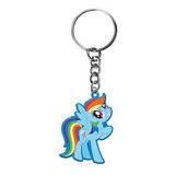 Rainbow Dash Keyring