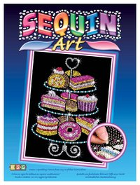Sequin Art - Cake Stand image