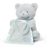 Gund: My First Teddy - Peek A Boo Plush (Blue)