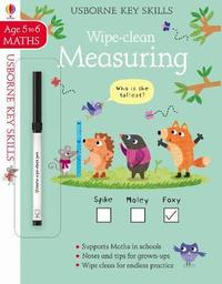 Wipe-Clean Measuring 5-6 by Holly Bathie
