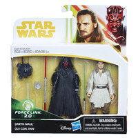 Star Wars: Force Link 2.0 - Darth Maul & Quigon Jinn