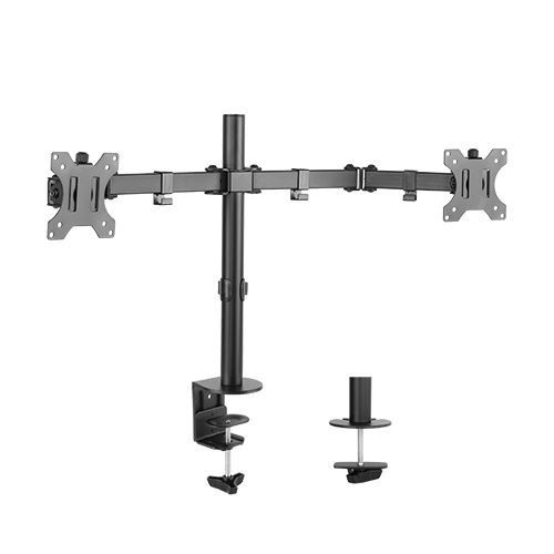 "Brateck: Economy Dual Monitor Steel Monitor Arm 13""-32"""
