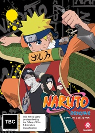 Naruto Origins Complete Collection (limited Edition) on DVD