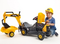 JCB: Vehicle with Trailer and Backhoe image