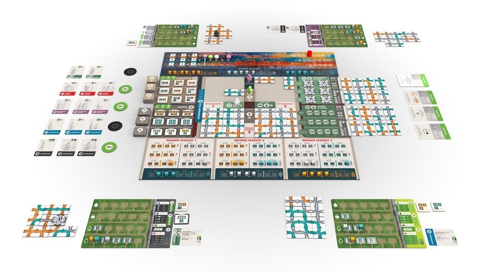Pipeline - Board Game image