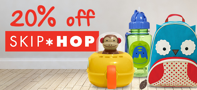 20% off selected Skip Hop!