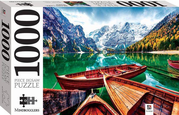 Mindbogglers: 1000-Piece Puzzle - Braies Lake, Italy