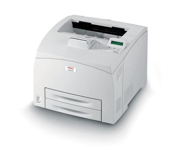 Oki B6200dn 24ppm printer includes auto duplex  unit image