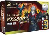 Leadtek Graphics Card WinFast PX6800 GT TDH 256MB SLI 6800 PCIE image