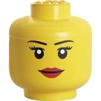 LEGO Storage Head Large (Girl)