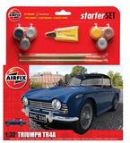 Airfix Triumph TR4A Starter Set 1/32 Model Kit